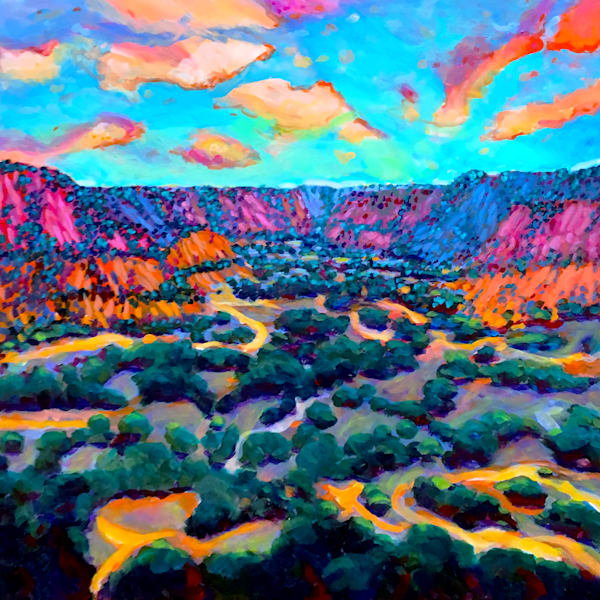 Palo Duro Canyon  Art | Charles Wallis
