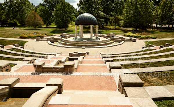 Cox-Hall Garden Amphitheater: Shop Fine Art Photography | Jim Wyant, Master Craftsman (317)663-4798