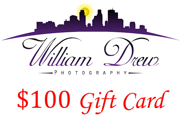 $100 Gift Card | William Drew Photography