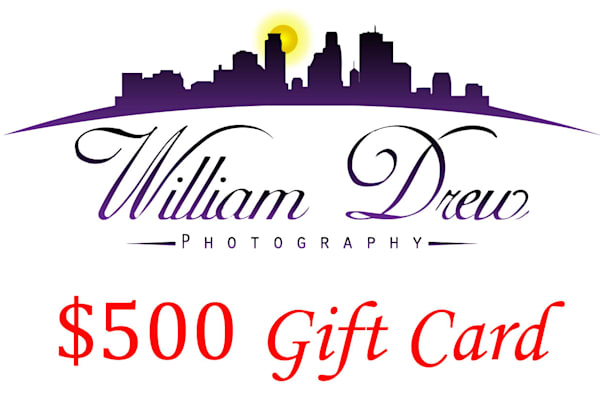 $500 Gift Card | William Drew Photography
