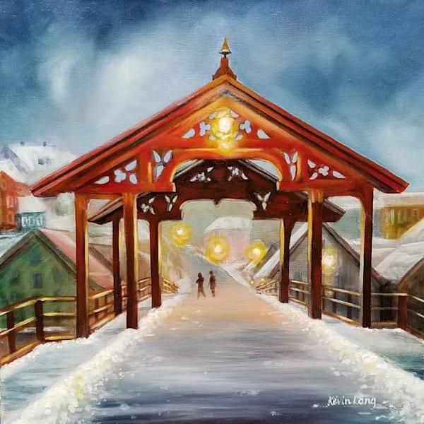 The Gamle Bybro Art | Kevin Lang Fine Art