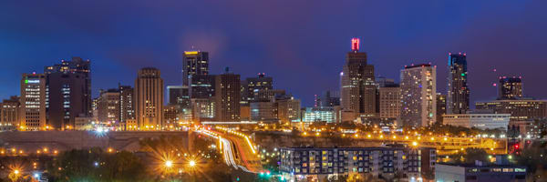 St Paul Skyline at Dusk - City Art | William Drew Photography