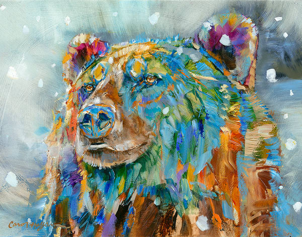 Bear Breath & Snowflakes by Carol Hagan