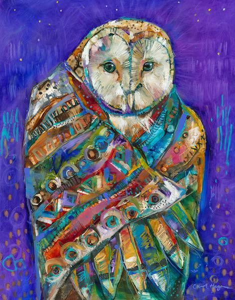 Owl Shaman by Carol Hagan