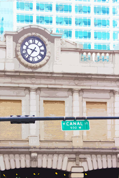 Chicago Canal Street Clock