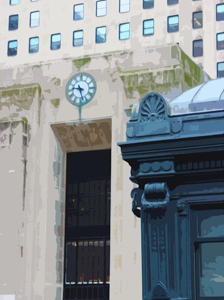Chicago Riverside Clock