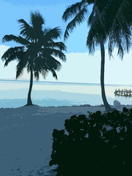 FLORIDA KEYS BEACH TWILIGHT