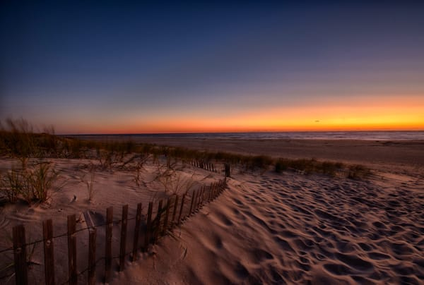 Sunrise in Bethany Beach Fine Art Wall Photograph