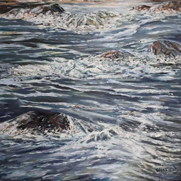 Rapids by Darlene Winfield | SavvyArt Market original painting