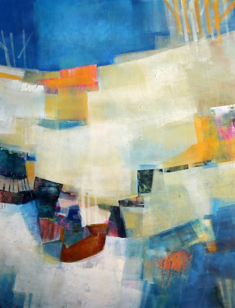 The Sky Grew Darker  by Sharon Kirsh | SavvyArt Market original painting