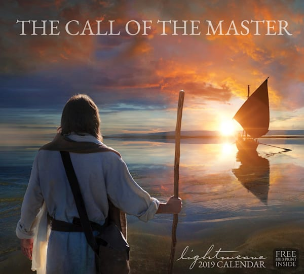 2019 Kelsy and Jesse Lightweave Calendar - The Call of the Master