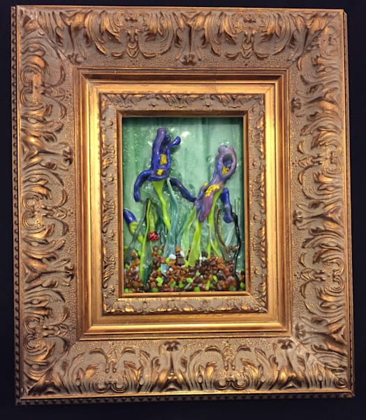 Purple Irises Art | Art a la Carte Gallery (Karen Rexrode, Manager)