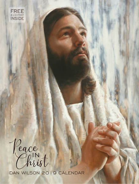 2019 Dan Wilson Calendar - Peace in Christ