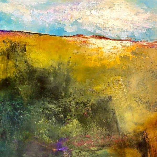Yellow Untitled by Sharon Kirsh | SavvyArt Market original painting