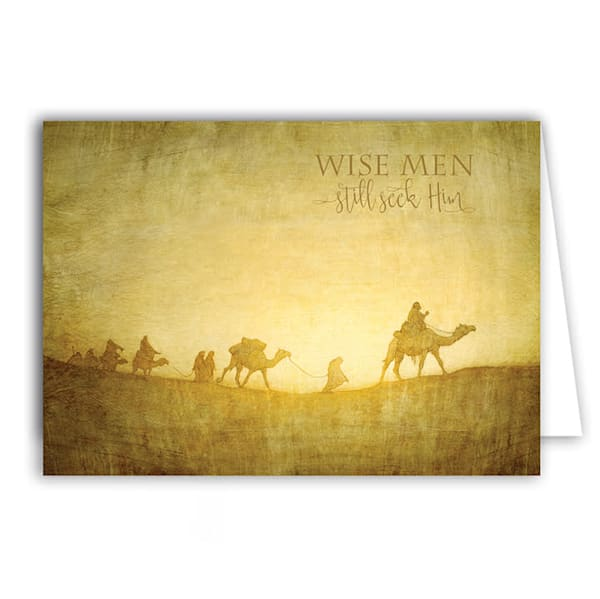"Joseph Brickey ""Caravan in the Desert"" Christmas Greeting Card Box"