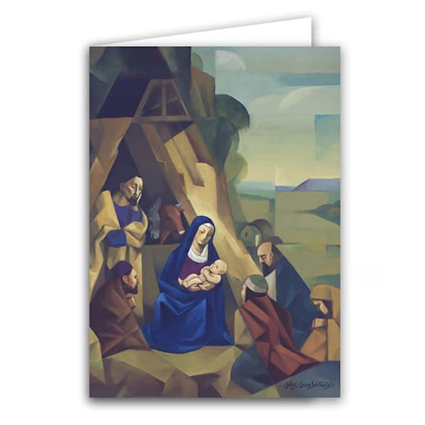 "Jorge Cocco ""Nativity"" Christmas Greeting Card Box"