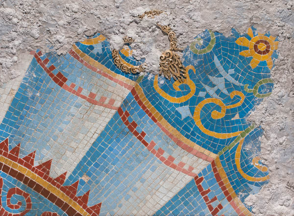 Roman Mosaics Art for Sale | A Fine Finish Studio by Katie Fitzgerald