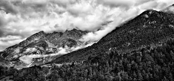 Switzerland Cloud Covered Mountains: Shop Fine Art Photography | Jim Wyant, Master Craftsman (317)663-4798