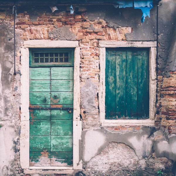 A Forgotten Venetian Portal | Kirby Trapolino Fine Art Photography