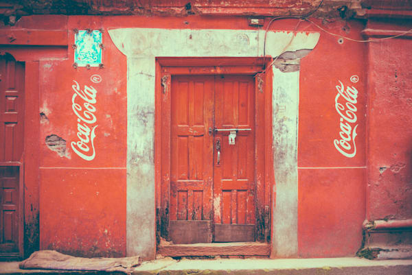 Nepali Soda Pop Passage | Kirby Trapolino Fine Art Photography