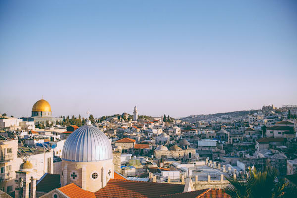 Jerusalem Old City Rooftops | Kirby Trapolino Fine Art Photography