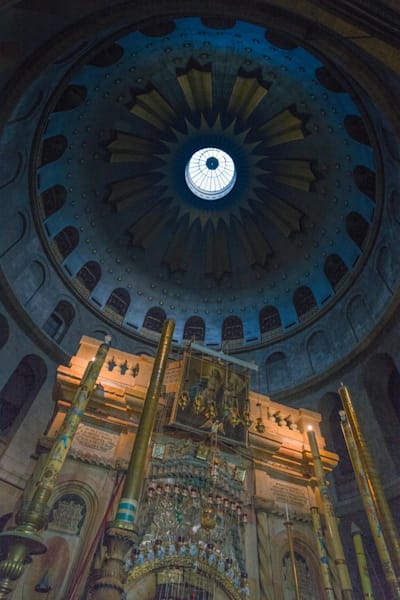 The Holy Sepulchre | Kirby Trapolino Fine Art Photography