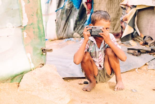 Hyderabadi Camera Boy | Kirby Trapolino Fine Art Photograph