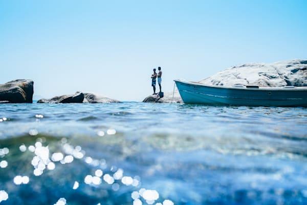 Naxos Cove Conversation | Kirby Trapolino Fine Art Photography