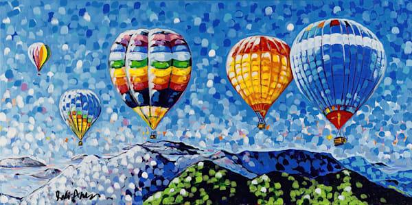 Hot Air Balloon Original Painting