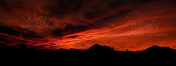 Sunset Inferno: Shop Fine Art Photography | Jim Wyant, Master Craftsman (317)663-4798