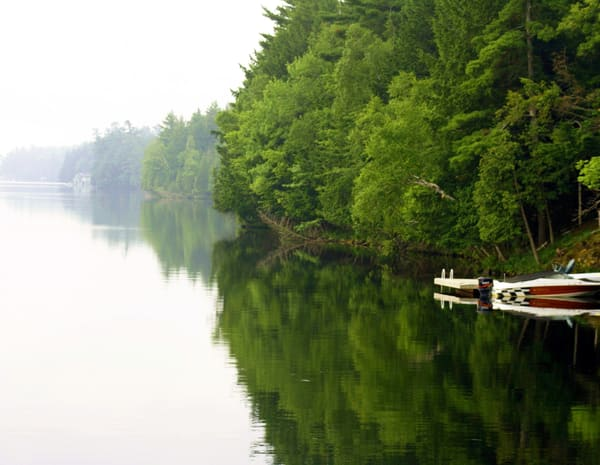 Peaceful Muskoka Lake
