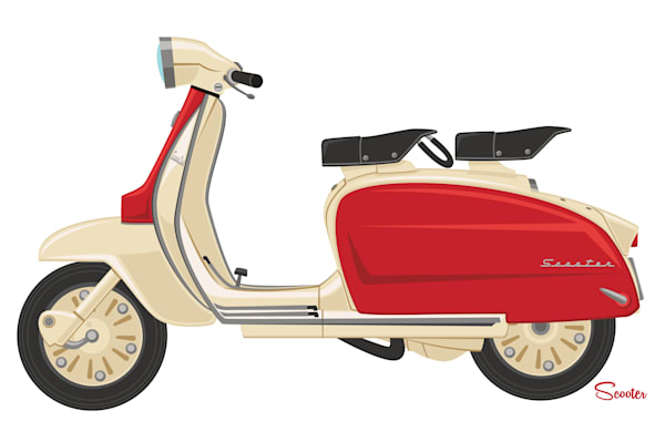 Cherry Scooter