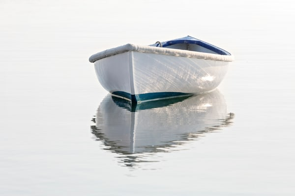 """Vineyard Haven Dory"" Nautical Rowboat Martha's Vineyard Fine Art Photography"