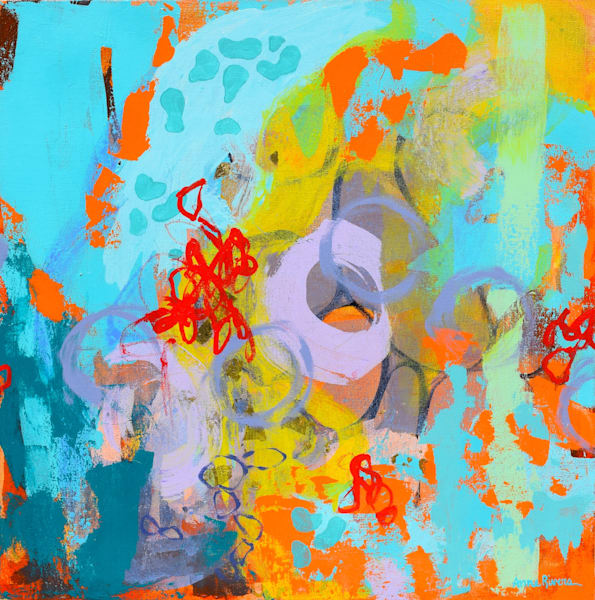 Exploration Abstract Color Art for sale | Anne Rivers