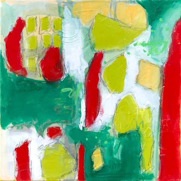 Christmas Abstract Color Art for sale | Anne Rivers
