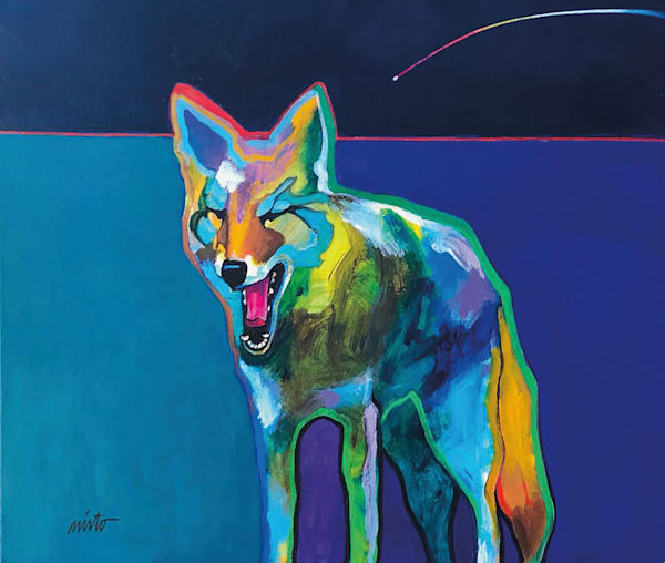 Cosmic Canine by John Nieto Original Painting