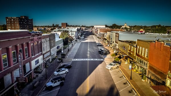 Main Street Denison | Randy Sedlacek Photography