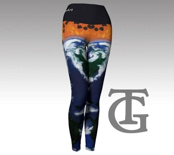 Yoga Pants - Gaia,
