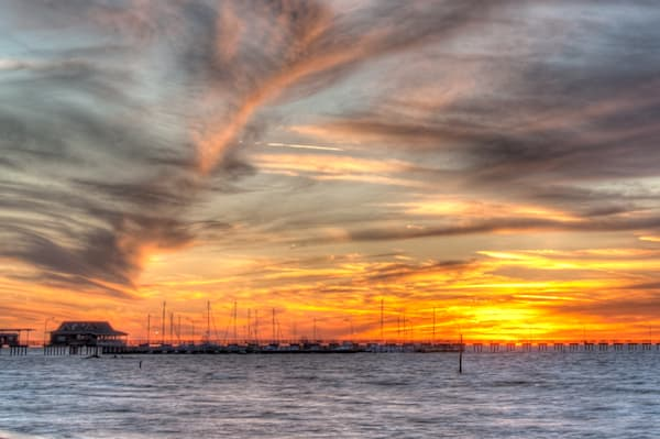 Sky on Fire - Fairhope, Alabama I