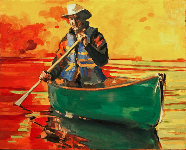 Canoe Series 1 Art | Giancarlo Piccin