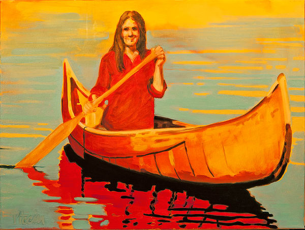 Canoe Series 6 Art | Giancarlo Piccin