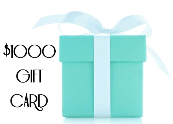 $1,000.00 Gift Card