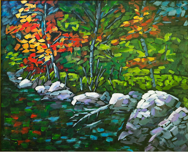 Fall Shoreline Art | Keith Thirgood