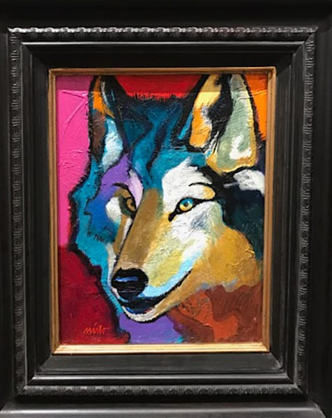 John Nieto Wolf II Original Painting