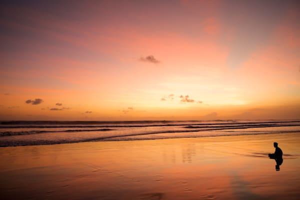 Zen Master - Double Six Beach Bali Seminyak Bali Indonesia | Sunset