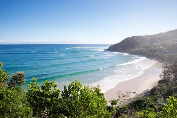 Wategos By Morning Light - Byron Bay NSW Australia