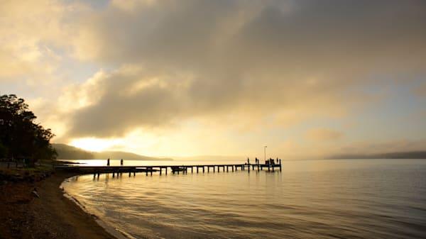 Wangi Gold - Wangi Wangi Lake Macquarie NSW Australia | Sunrise