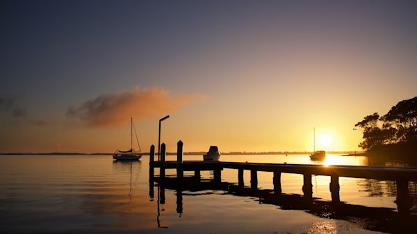 Wangi Sunrise - Wangi Wangi Lake Macquarie NSW Australia | Sumrise