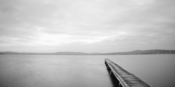 The Jetty - Marmong Point Lake Macquarie Australia | Black & White