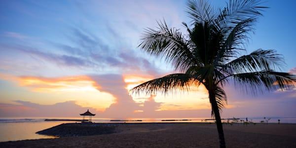 Sunrise Palm - Nusa Dua Bali Indonesia | Sunrise